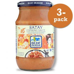 Satay Sås Blue Dragon 3x350ml