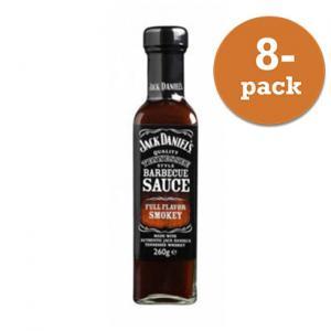 BBQ Grillsås smokey Jack Daniels 8x260g