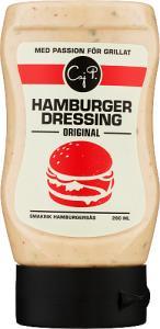 Hamburgerdressing 1x280ml Caj P KORT HÅLLBARHET