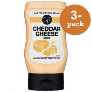 Cheddar Cheese Sås 3x280ml Caj P