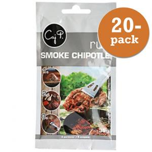 Rub Smoke Chipotle Caj P 20x35g