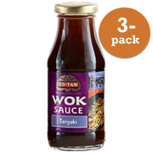 Woksås Teriyaki Go-Tan 3x240ml