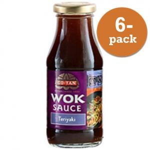 Woksås Teriyaki Go-Tan 6x240ml