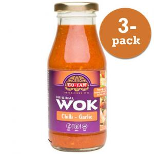 Woksås Chili&Vitlök Go-Tan 3x240ml