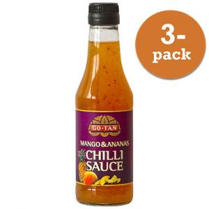 Chilisås Mango & Ananas Go-Tan 3x500ml