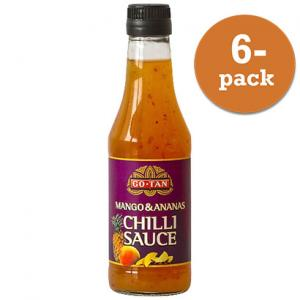Chilisås Mango & Ananas Go-Tan 6x500ml