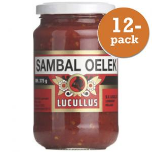Sambal Oelek Lucullus 12x375g