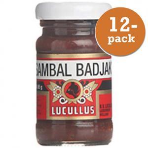 Sambal Badjak Lucullus 12x65g