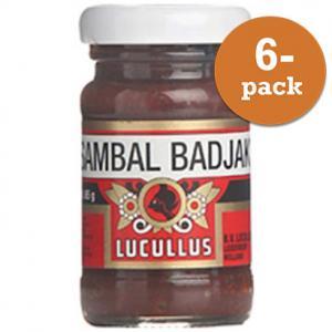 Sambal Badjak 6x65g Lucullus