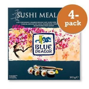 Sushi Meal Kit Blue Dragon 4x315g
