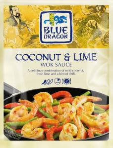 Woksås Kokos & Lime 12x120g Blue Dragon