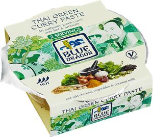 Currypasta Grön 3x50g Blue Dragon