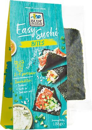 Easy Sushi Bites 1x138g Blue Dragon KORT HÅLLBARHET