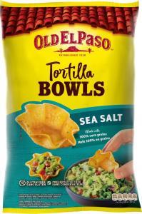 Tortilla Bowls Havssalt 1x150g Old El Paso KORT HÅLLBARHET