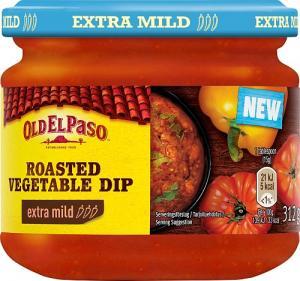 Roasted Vegetable Dip 12x312g Old El Paso