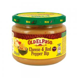 Cheese & Red Pepper Dip 12x320g Old El Paso