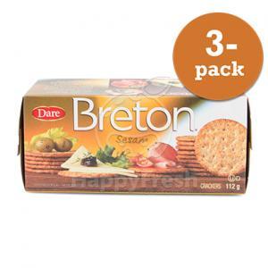Breton Sesam 3x112g Dare