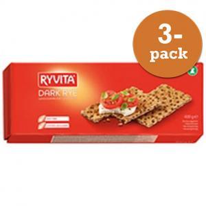 Råg Knäckebröd 3x400g Ryvita