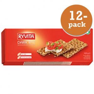 Råg Knäckebröd Ryvita 12x400g