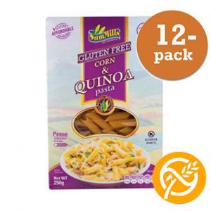 Penne Corn & Quinoa Sam Mills 12x250g