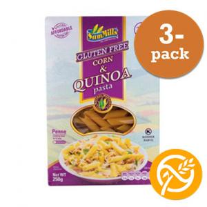 Penne Corn & Quinoa Sam Mills 3x250g