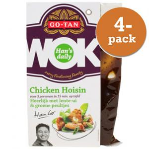 Han´S Daily Wok Hoisin 4x160ml Go-Tan