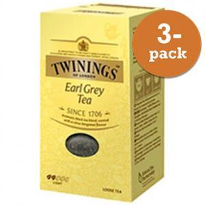 Te Earl Grey Lösvikt Twinings 3x200g