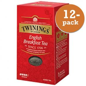 Te English Breakfast Lösvikt Twinings 12x200g