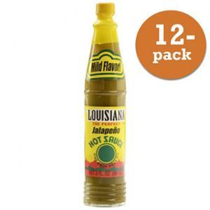 Jalapeno Sås 12x88ml Louisiana
