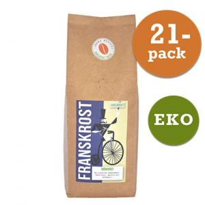 Kaffe Brygg Franskrost Mörk 21x450g Järna Rosteri