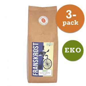 Kaffe Brygg Franskrost Mörk 3x450g Järna Rosteri