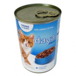 Kattfoder fisk 10x400g Daya