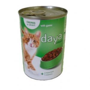 Kattfoder vilt 10x400g Daya