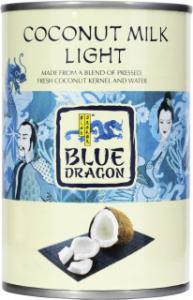 Kokosmjölk Lätt Blue Dragon 12x400ml