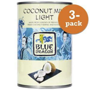 Kokosmjölk Lätt Blue Dragon 3x400ml
