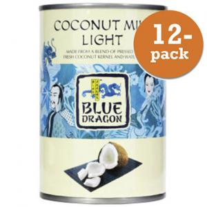 Kokosmjölk Lätt Blue Dragon 12x400ml