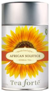 African Solstice, Rött Te 1x100g Tea Forté KORT HÅLLBARHET