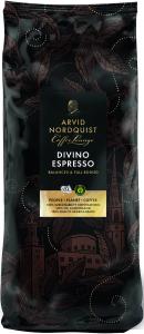 Espresso Divino Hela Bönor Espresso 1x1000g Arvid Nordquist KORT HÅLLBARHET