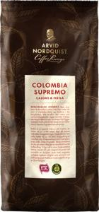 Kaffe Colombia Supremo Hela Bönor Mörkrost 12x500g Arvid Nordquist