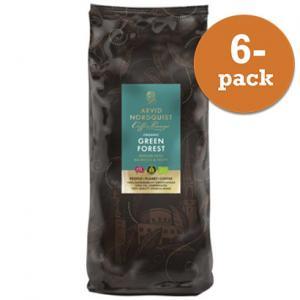 Kaffe Green Forest Hela Bönor Mellan Mörkrost 6x1000g Arvid Nordquist