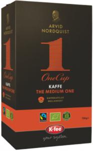 Kaffekapsel The Medium One Mellanrost 1x16st Arvid Nordquist KORT HÅLLBARHET