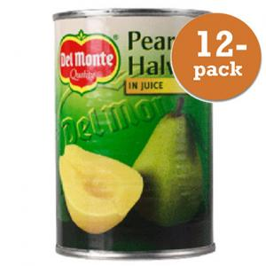 Päronhalvor I Juice 12x415g Del Monte