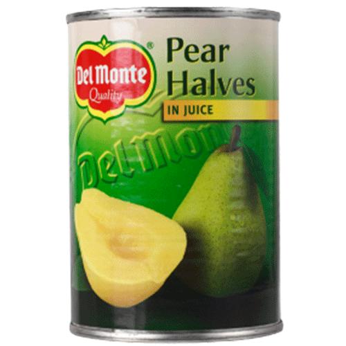 12st Päronhalvor i juice från Del Monte om 415g vardera billigt hos Kolonialvaror. Alltid bra pris på skafferivaror i storpack. Perfekt för catering storhushåll restaurang och café. Vi levererar till hela Sverige!