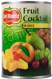 Fruktcocktail I Juice 12x415g Del Monte
