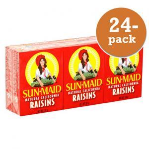 Russin 24st 6-pack på 42,5g Sun Maid