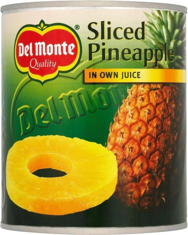 Ananas Skivor I Juice Del Monte 12x560g