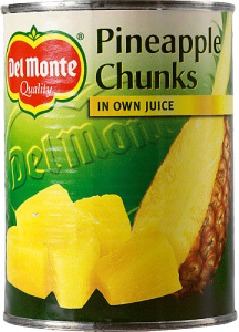 Ananas Bitar I Juice 12x560g Del Monte