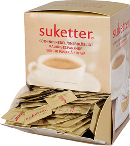 Socker Bitsuketter 1x500g Cederroth KORT HÅLLBARHET