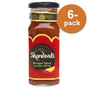 Mango Chutney Bengal Spice Sharwoods 6x360g