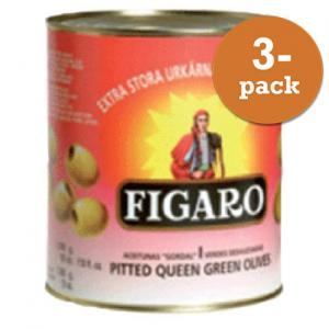 Oliver Queen Gröna Urkärnade Figaro 3x3kg